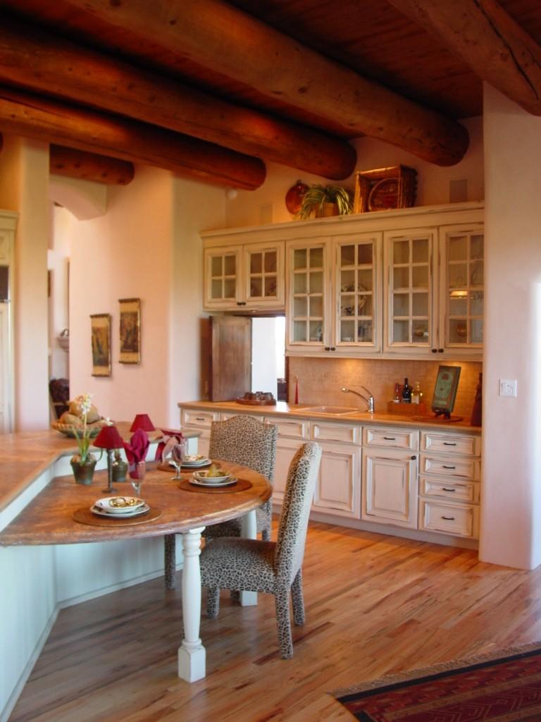 Award winning Santa Fe kitchen.