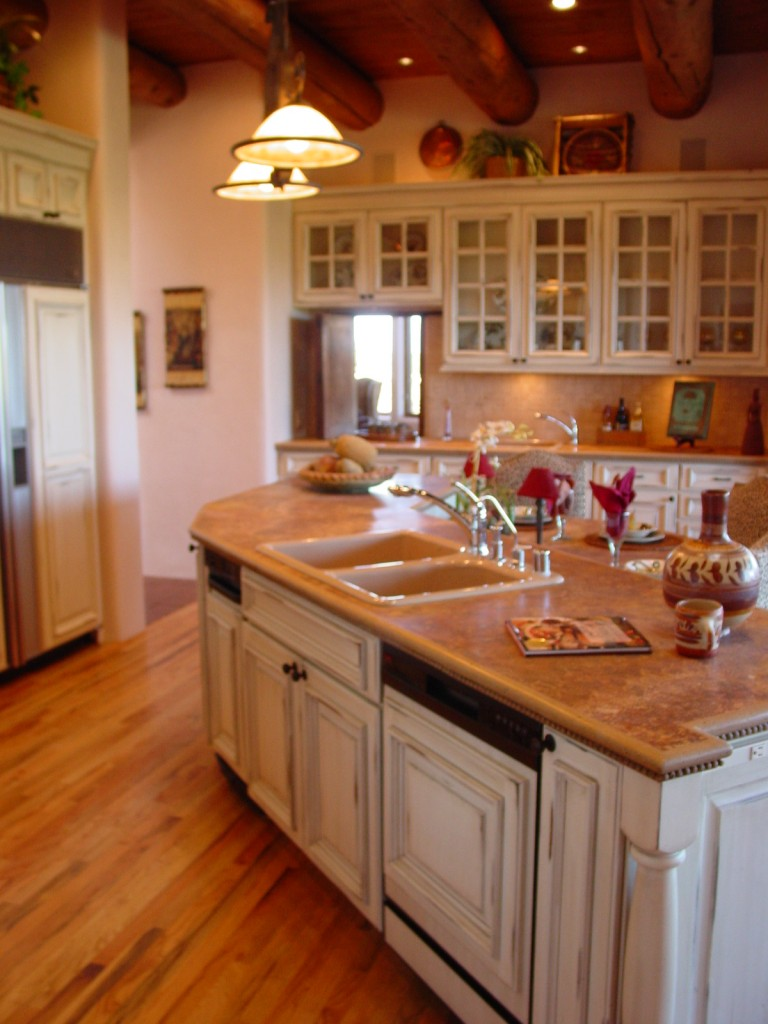 Santa Fe award winning kitchen